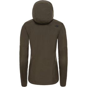The North Face Dryzzle Jacket Dame new taupe green